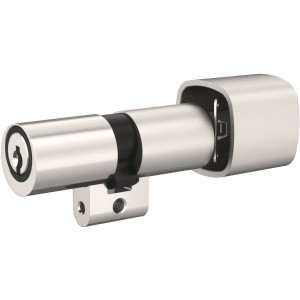 Cylindre double à bouton profil Suisse